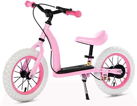 Bicicleta sin pedales Bici Equilibrio Rojo/Rosa para niño/niña ...