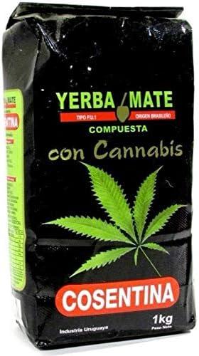 YERBA MATE CANNABIS CONSENTINA 1 KILO