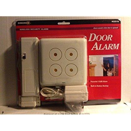 Dimango Wireless Security Door Alarm