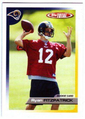 2005 Topps Total #458 Ryan Fitzpatrick RC Rookie Card