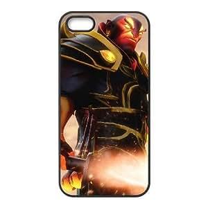 iphone5 5s Black phone case Ember Spirit Dota 2 DOT5942606