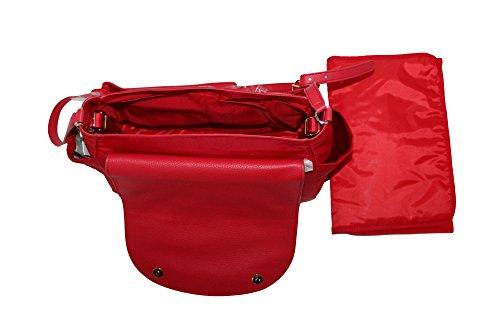Messenger Bag Nylon Tory Burch Women Handbag RED NAUTICAL Crossbody Baby Thea Hc4ZPnZt