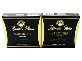 Sardines in Olive Oil by Ramon Pena (2 Pack)