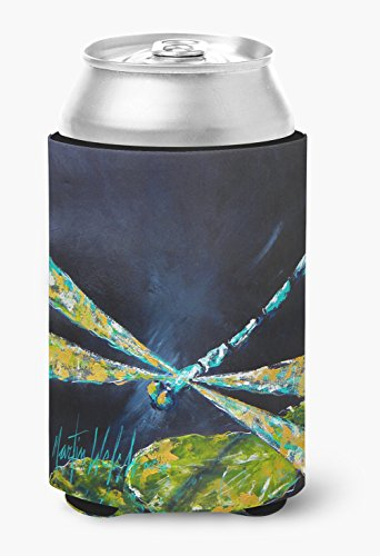 Insect - Dragonfly Night Flight Dark Blue Can or Bottle Beverage Insulator Hugger