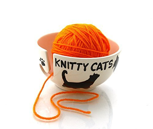 Lennymud Knitty Cats Yarn Bowl product image