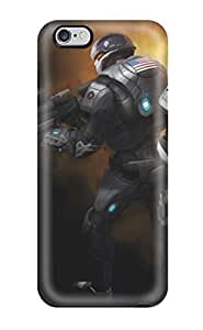 Iphone 6 Plus Case Cover - Slim Fit Tpu Protector Shock Absorbent Case (xcom Enemy Unknown) hjbrhga1544