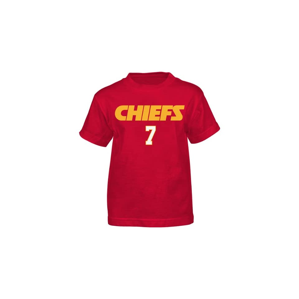 NFL Team Apparel Youth Kansas City Chiefs Matt Cassell Primary Gear Name and Number T Shirt   Size Clothing