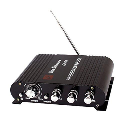 Automó vil Presione el botó n del interruptor 200W Amplificador de sonido DealMux DLM-B00WW78WMW