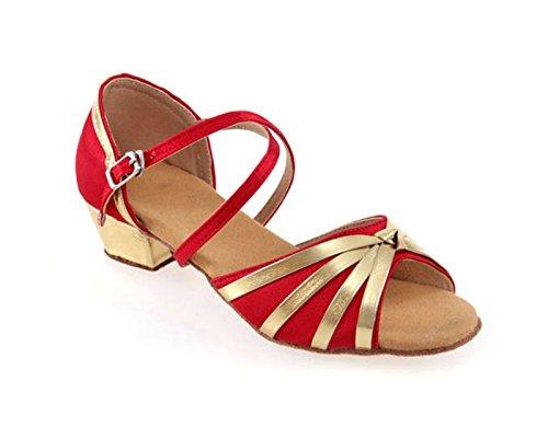 Shoes soft Shoes dancing Dance bottom Prom Latin Ruanlei red heels ShoesHigh Ballroom E6qI7z