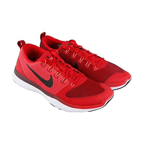 NIKE Free Train Versatilty Mens Red Textile Athletic Lace Up Running Shoes 11.5