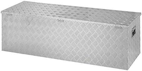 Caja de herramientas de aluminio para remolque 1450 x 520 x 460 mm: Amazon.es: Coche y moto