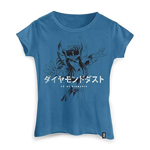 Camiseta Feminina Cavaleiros Do Zodíaco Golpe Hyoga