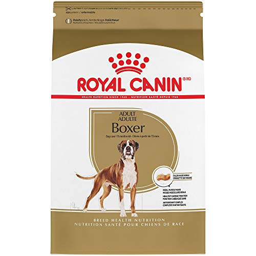 Boxer Pure Breed - Royal Canin Breed Health Nutrition Boxer Adult Dry Dog Food, 30-Pound