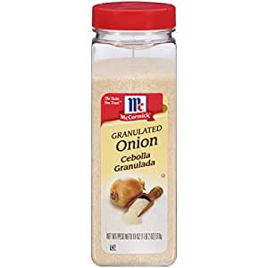 McCormick Granulated Onion, 18 oz