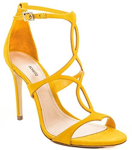 Mujer Mujer Sandalias Amarillo Amarillo Mujer Schutz Amarillo Schutz Sandalias Sandalias Schutz tYqwWgf