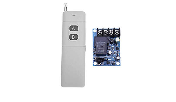 Akaddy DC12V-48V Wide Voltage 1CH Lichtschalter Wireless RF Remote Control  //Neu