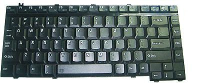 HQRP Laptop Keyboard for Toshiba Satellite A105-S4374 / A105-S4384 / A105-S4397 / A105-S4547 Notebook Replacement plus HQRP Coaster