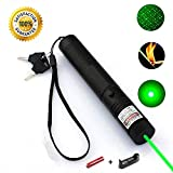 DORISO Tactical Green Hunting Rifle Scope Sight Laser Pen, High Power Demo Remote