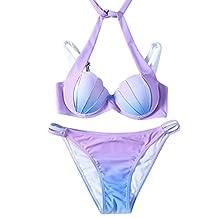 2017 TISHOW Swimsuit Women shell Summer Bikini Sets Two Pieces Swimwear