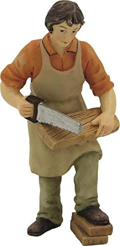 Schreiner geeignet f/ür 11cm Figuren 444635095678 Dekop Krippenfiguren