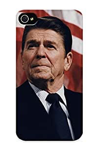 Xnhbkq-2776-shfuvav Ronald Reagan Awesome High Quality Iphone 4/4s Case Skin/perfect Gift For Christmas Day