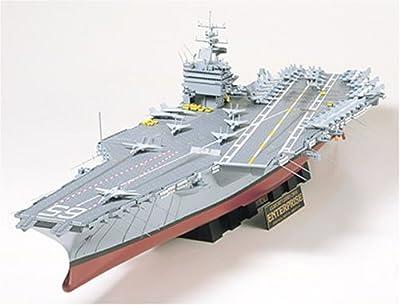 Tamiya 1/350 Ship Series No.7 US Navy nuclear aircraft carrier CVN-65 Enterprise Model Car 78007