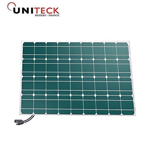 unisun 80.12M–Panel Photovoltaik–80W–12V–Monokristallines–Anschlüsse MC4