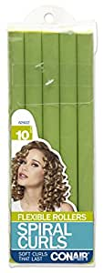 Conair 62502z Spiral Rollers, 10 Pack