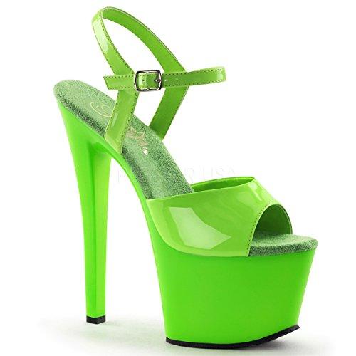 Pleaser SKY-309UV SKY309UV/NGN/M Neon Green/Green