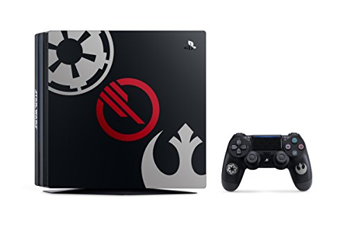 PlayStation 4 Pro 1TB Limited Edition Console - Star Wars Battlefront II Bundle