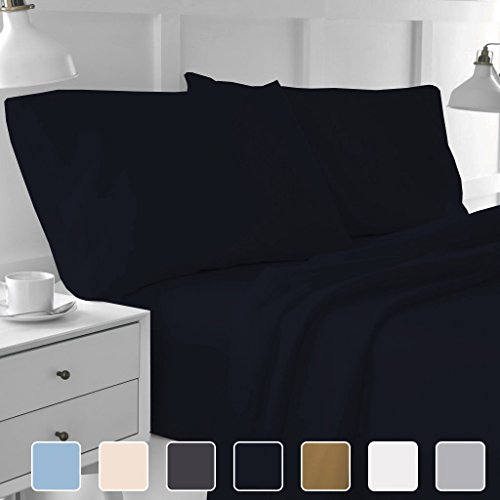 Cottington Lane 400 Thread Count 100% Long Staple Cotton Sheetsets, 4 PCs, Queen Sheets, Upto 15
