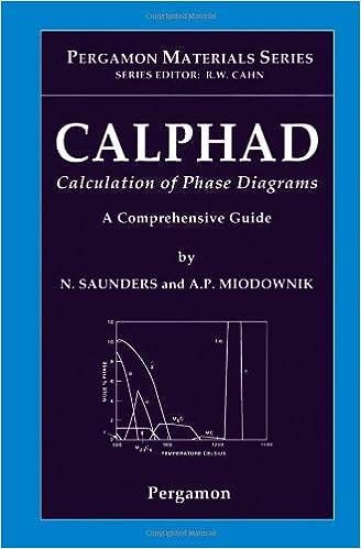 Amazon Calphad Calculation Of Phase Diagrams A Comprehensive
