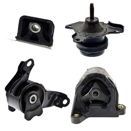 K0010 Fits 2003-2006 Honda Element 2.4L Engine Motor & Trans Mount w/Auto 4 PCS : A6597, A4573, A4504, A4579