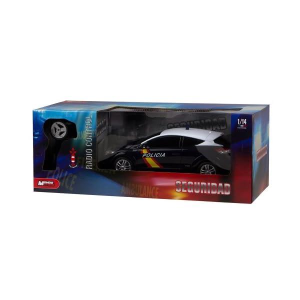 Mondo Toys - Renault Megane Policía Nacional Española, coche con radiocontrol 1:14 (63202) 8