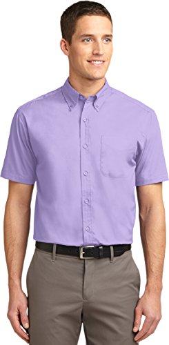 Port Authority Mens Short Sleeve Easy Care Shirt (S508) -Bright Lav -2XL (Port Lav)
