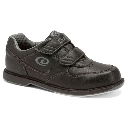 Dexter V Strap Bowling Shoes (11 M US, Black) by Dexter Bowling Shoes