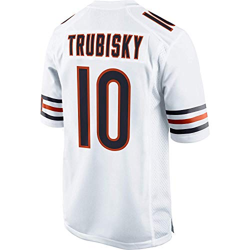 - Men's/Women's/Youth_Chicago_#10_Mitchell_Trubisky_White_Game_Jersey