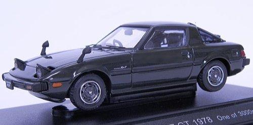 Ebbro 43587 Mazda Savanna RX7 GT (Green) 1/43 scale [並行輸入品]   B07456D4QH