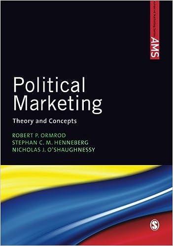 Political Marketing: Theory and Concepts SAGE Advanced Marketing Series: Amazon.es: Robert Ormrod, Stephan Henneberg, Nicholas OShaughnessy: Libros en ...