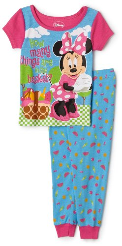 Click for larger image of Disney Mickey Mouse Clubhouse Pajama Set, 2 Piece, Fuschia, 18 Months