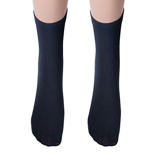 Birdfly Men Basic Warm Winter Plain Long Tube Socks (12.20