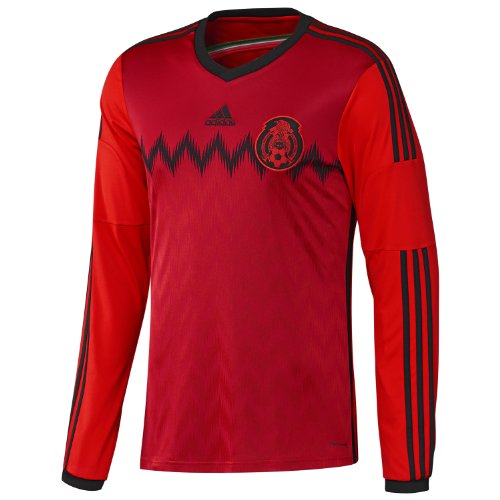 ADIDAS MEXICO AWAY SOCCER JERSEY 2014 LONG SLEEVE