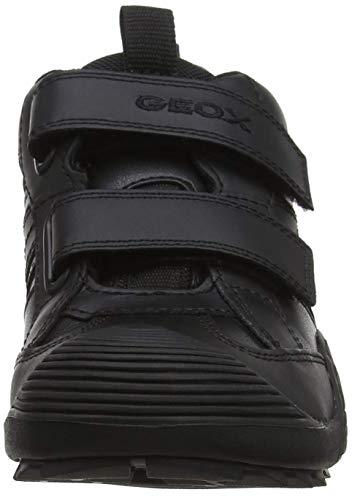 Geox Shoes Com - Geox CSAVAGE10 Sneaker (Little kid/Big Kid),Black,41 EU/7 M US BigKid