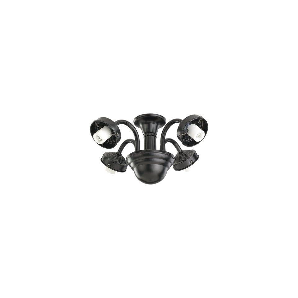 Monte Carlo Fan Company MC183 L Four Light Neck Fitter Finish Tuscan Bronze