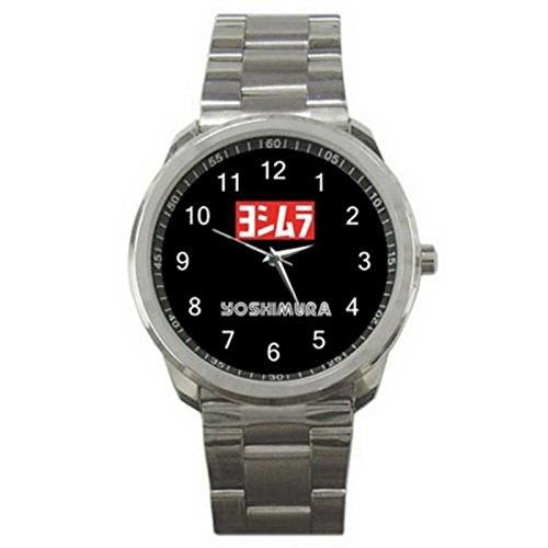 HSS040Yoshimura Exhaust Motorcycle Racing Logo #A Sport Metal Watch -
