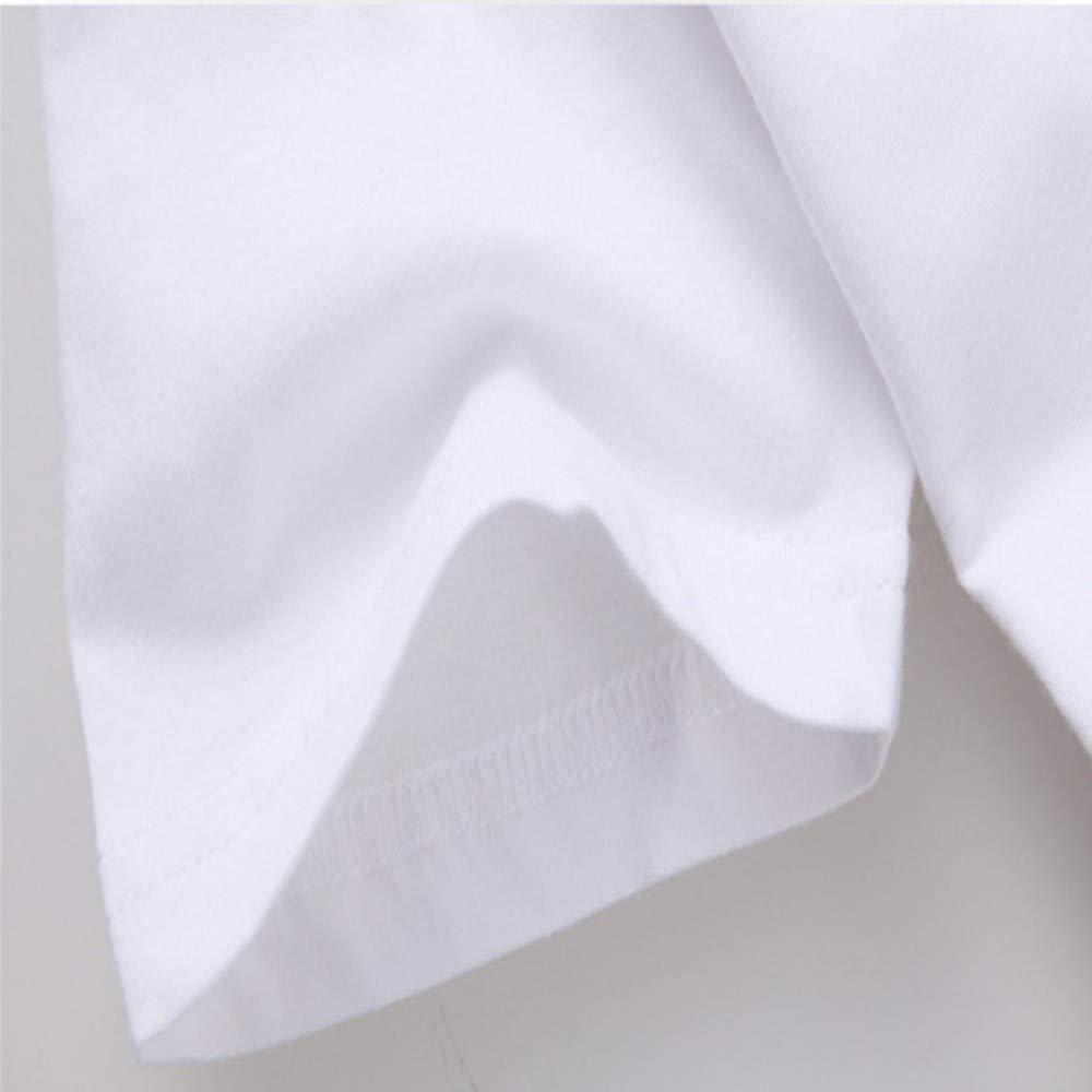 XIAOBAOZITXU Camiseta De Mujer con L/ágrimas En Los Ojos Manga Corta O-Cuello Tallas Grandes Tops Feminina