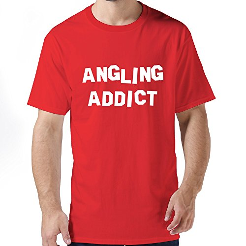 Men's Customize Angling Addict T-shirt Addict Womens T-shirt