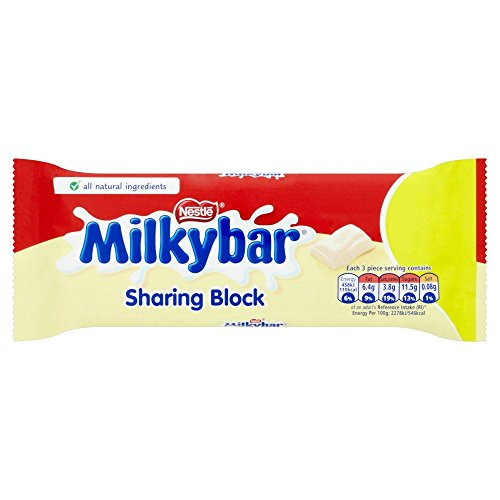 Nestle Milky Bar 12 x 100g Bars (Bulk Buy) 100g Chocolate Bar