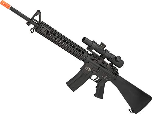 tal Gas Blowback Airsoft Rifle with Western Arms Gas System (Model: M16 DMR) ()