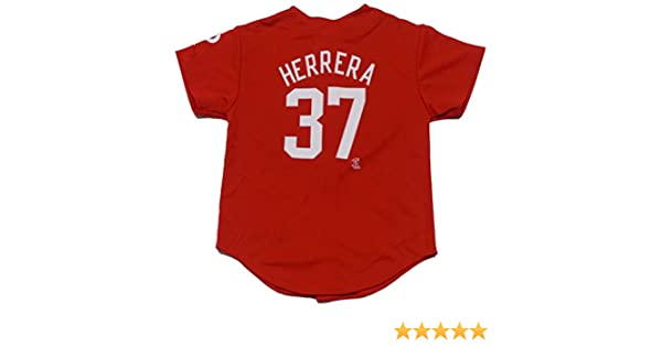 Amazon.com  Outerstuff Odubel Herrera Philadelphia Phillies Red Youth  Player Fashion Jersey  Clothing a0b07cdc13b